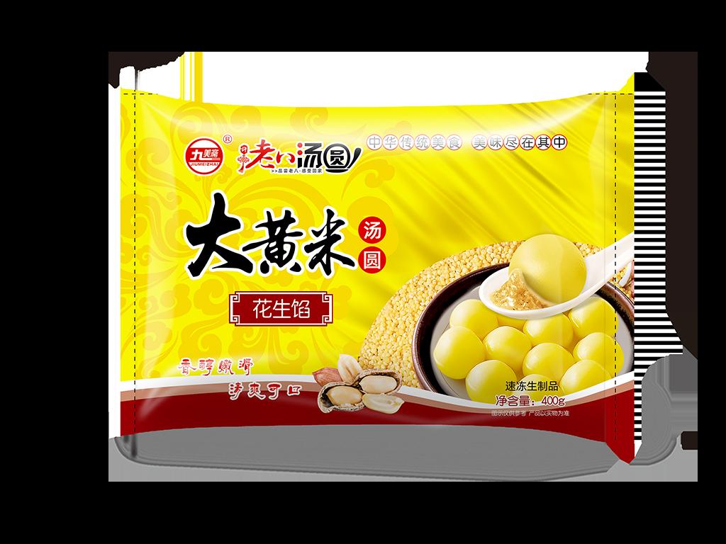 大黃米花生湯圓400g